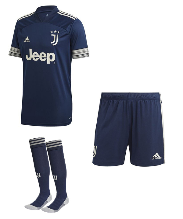Ювентус гостевая форма сезон 2020-2021 (футболка+шорты+гетры)